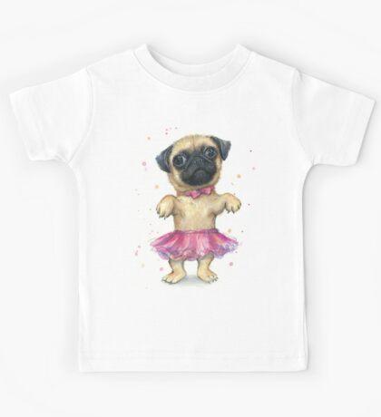 Pug in a Tutu Kids Tee