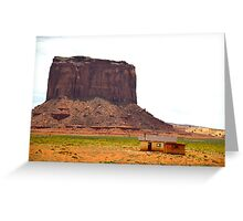 Monument Valley in Arizona, USA Greeting Card