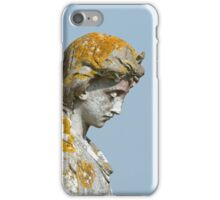 Statue with Lichen iPhone Case/Skin
