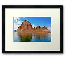 Lake Powell in Page, Arizona USA Framed Print