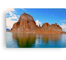 Lake Powell in Page, Arizona USA Canvas Print