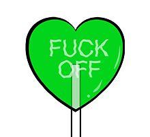 green heart lollipop by skyekathryn