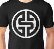 WHITE $ Logotype 01 2012 NO BACKGROUND  Unisex T-Shirt