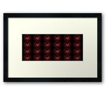 Red pussies galore Framed Print