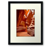 Antelope Canyon in Page, Arizona USA Framed Print