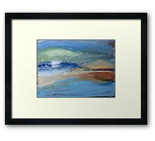 Low Tide  Framed Print