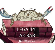 Legally a Crab- The Musical Photographic Print
