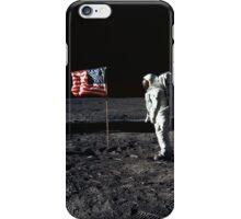 Apollo 11 Photograph on the Moon iPhone Case/Skin