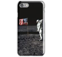 Apollo 11 Photograph on the Moon iPhone Case/Skin