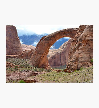 Rainbow Bridge Monument in Utah, USA Photographic Print