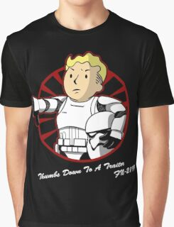 Thumbs down to a traitor  Graphic T-Shirt