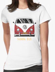 VW T1 SambaBus (red) Womens Fitted T-Shirt