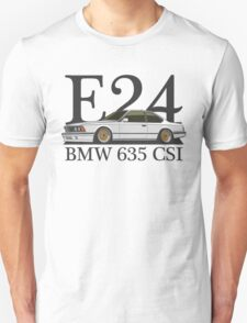 BMW 635 CSI E24 (white) T-Shirt