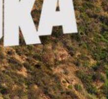 DKA Hollywood Sign Sticker