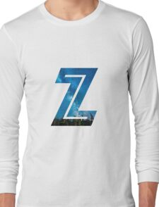 The Letter Z - Starry Night Long Sleeve T-Shirt