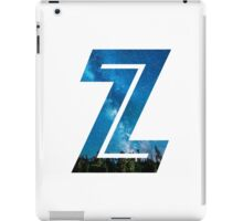 The Letter Z - Starry Night iPad Case/Skin