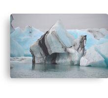 Jokulsarlon Glacial Lagoon in Iceland Canvas Print