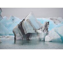 Jokulsarlon Glacial Lagoon in Iceland Photographic Print