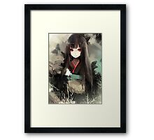 Enma Ai In Traditional Japanese Clothes Framed Print