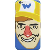 Wario (badbones) iPhone Case/Skin