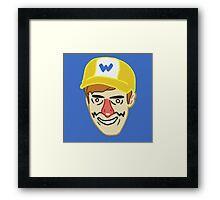 Wario (badbones) Framed Print