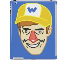 Wario (badbones) iPad Case/Skin