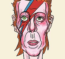 David Bowie by collinscott7