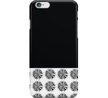 Black and white creation iPhone Case/Skin