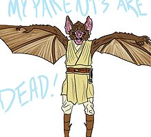 Bat Pecki (Griffin and David Present/ Blank Check) by collinscott7