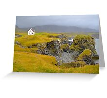 South Iceland Landscape Greeting Card
