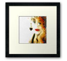 AGAINST TREND Framed Print