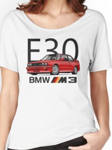 BMW M3 E30 Evo Women's Relaxed Fit T-Shirt
