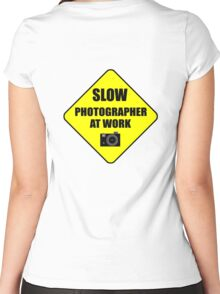 slow photographer Women's Fitted Scoop T-Shirt