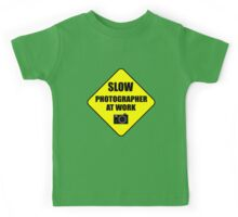 slow photographer Kids Tee