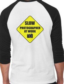 slow photographer Men's Baseball ¾ T-Shirt