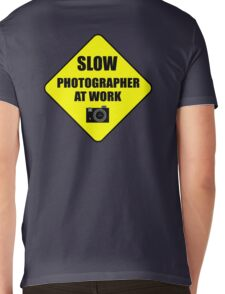 slow photographer Mens V-Neck T-Shirt