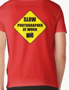 slow photographer Mens V-Neck T-Shirt