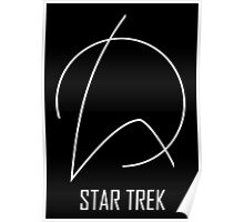 Star Trek - Abstract Design, Emblem Poster