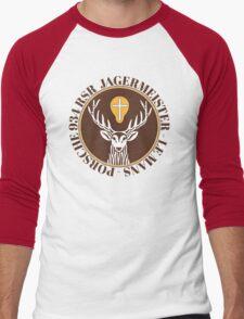 Jagermeister Porsche emblem  Men's Baseball ¾ T-Shirt