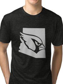 Arizona Cardinals funny nerd geek geeky Tri-blend T-Shirt