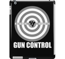 gun control iPad Case/Skin