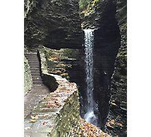 Watkins Glen State Park in New York , USA Photographic Print