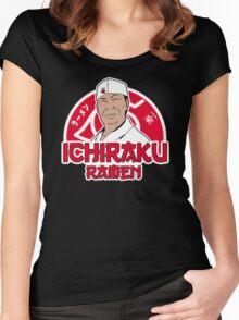 Ichiraku Ramen Women's Fitted Scoop T-Shirt