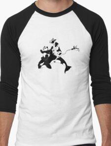 Monochrome Menagerie Men's Baseball ¾ T-Shirt