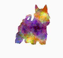 Australian Silky Terrier in watercolor Unisex T-Shirt