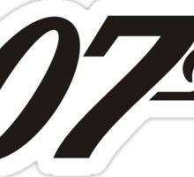 007 James Bond Sticker