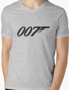 007 James Bond Mens V-Neck T-Shirt