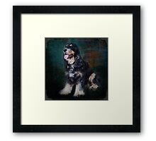 Fred the Dog Framed Print