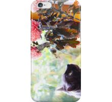 Gazing at the Flowers.  iPhone Case/Skin
