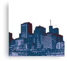 My City Print Canvas Print